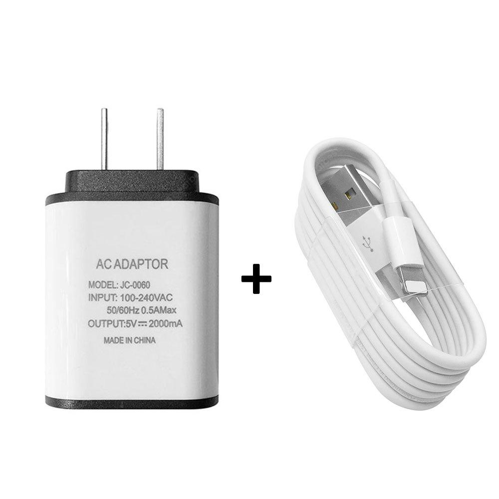 Usb 8 Pin Cable Charger Portátil Travel Wall Charger Adapter US Plug Phone Charger