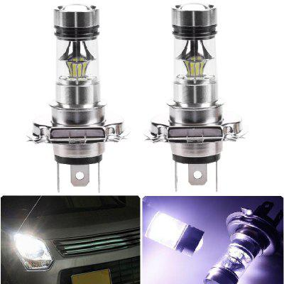 2PCS H4 20SMD 3030 100W 6500K -7000K LED Bulb for Car LED Fog Light Head Lamp DC12-24V