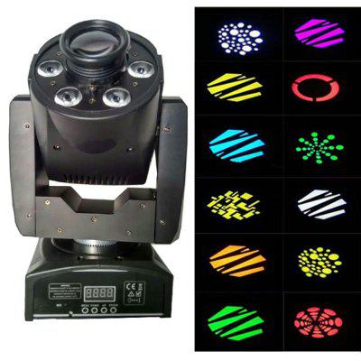 MITU SHOW DMX512 Moving Head Light 30W LED Spot Wash Light