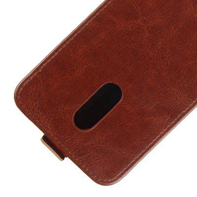 Durable Crazy Horse Pattern Up and Down Style Flip Buckle PU Leather Case for Xiaomi Redmi 5Cases &amp; Leather<br>Durable Crazy Horse Pattern Up and Down Style Flip Buckle PU Leather Case for Xiaomi Redmi 5<br><br>Features: Vertical Top Flip Case<br>Material: PU Leather<br>Package Contents: 1 x Up and Down Case<br>Package size (L x W x H): 20.00 x 20.00 x 5.00 cm / 7.87 x 7.87 x 1.97 inches<br>Package weight: 0.0500 kg<br>Product weight: 0.0300 kg<br>Style: Solid Color