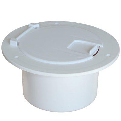 Round Cable Hatch for Use with RV Electrical Cables