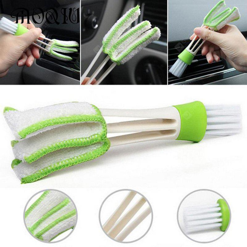 Image result for Practical Household Wash Tool Double Slider Car Air Conditioning Outlet Clean Brush Window Blinds Keyboard Cleaner Scrub