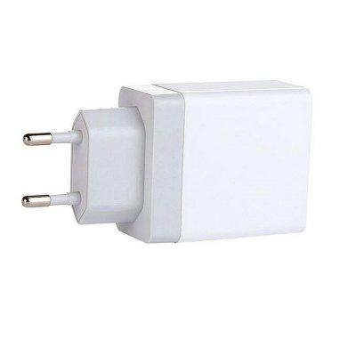Minismile 5V 2.4A Universal Fast Charge 3 USB Port Home USB Power Travel Charger Wall Adapter - EU PlugChargers &amp; Cables<br>Minismile 5V 2.4A Universal Fast Charge 3 USB Port Home USB Power Travel Charger Wall Adapter - EU Plug<br><br>Accessories type: Power Adapter<br>Colors: White<br>Material: ABS<br>Model: AR001<br>Package Contents: 1 x Charger<br>Package size (L x W x H): 9.00 x 5.00 x 3.00 cm / 3.54 x 1.97 x 1.18 inches<br>Package weight: 0.0470 kg<br>Product weight: 0.0460 kg