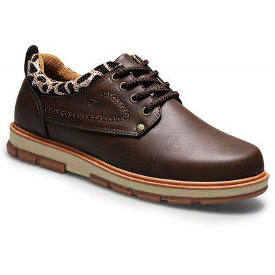 Casual Lace Up Workers Fashion Shoes