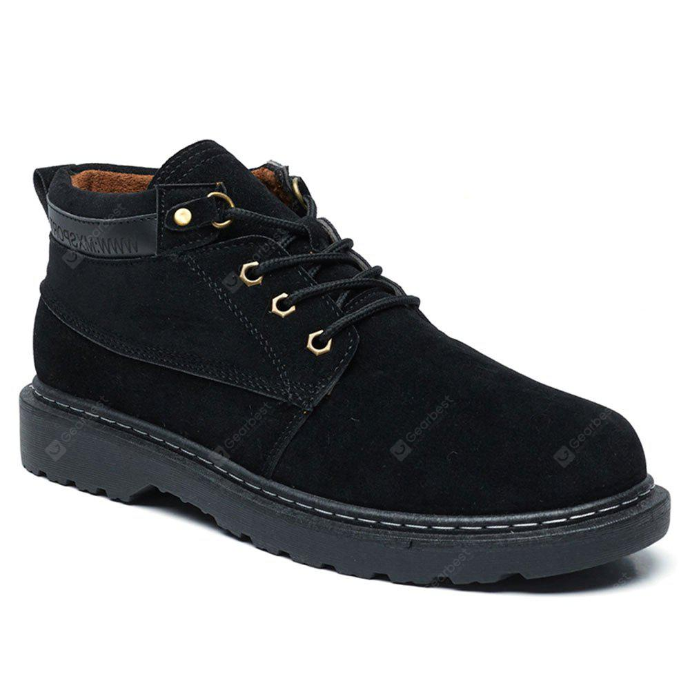 Retro Male Low Top Boots
