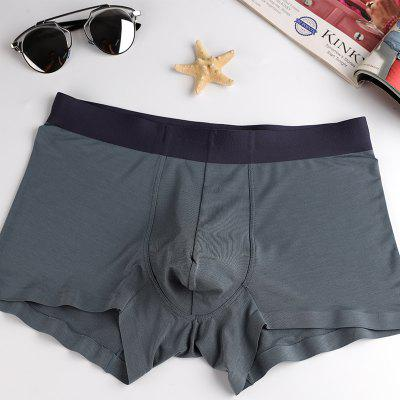 Men Modal Seamless Antibacterial BoxersMens Underwear &amp; Pajamas<br>Men Modal Seamless Antibacterial Boxers<br><br>Color: Red,Wine red,Grey<br>Feature: Others<br>Item Type: Low Waist Underwear<br>Material: Modal<br>Package Contents: 1xUnderwear<br>Package size (L x W x H): 1.00 x 1.00 x 1.00 cm / 0.39 x 0.39 x 0.39 inches<br>Package weight: 0.1500 kg<br>Pattern Type: Solid<br>Size: L,XL,XXL,XXXL<br>Waist Type: Low