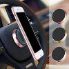 Universal In Car Magnetic Dashboard Cell Mobile Phone GPS Mount Holder Stand Tool - GOLD