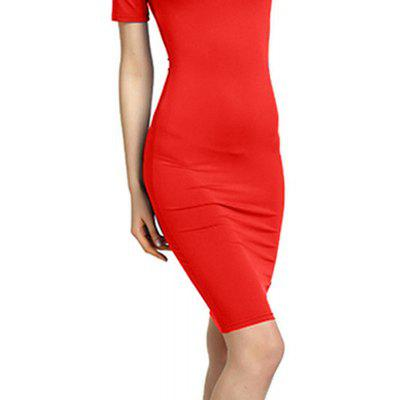 Women Sexy Bridesmaids Pencil Bandage Bodycon Long Sleeve Evening Cocktail DressBodycon Dresses<br>Women Sexy Bridesmaids Pencil Bandage Bodycon Long Sleeve Evening Cocktail Dress<br><br>Dresses Length: Knee-Length<br>Elasticity: Micro-elastic<br>Fabric Type: Broadcloth<br>Material: Cotton, Polyester, Nylon<br>Neckline: One-Shoulder<br>Package Contents: 1 x Dress<br>Pattern Type: Solid<br>Season: Winter, Fall, Spring, Summer<br>Silhouette: Sheath<br>Sleeve Length: Short Sleeves<br>Style: Sexy &amp; Club<br>Waist: Natural<br>Weight: 0.2000kg<br>With Belt: No
