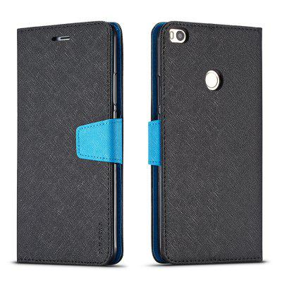 Cover Case For Xiaomi Mi Max2 Multifunctional Canvas Design Flip PU Leather Wallet Case