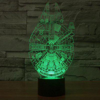 Unique Shape Colorful Night Light3D Lamps<br>Unique Shape Colorful Night Light<br><br>Battery Quantity: No<br>Certifications: CE<br>Color Temperature or Wavelength: 5000K<br>Connector Type: USB<br>Electric Products: Built-in Electrical Products<br>Features: Color-changing<br>Light Source Color: Touch 7-Color<br>Light Type: LED Night Light<br>Package Contents: 1 x 3D Illusion Lamp , 1 x ABS Base , 1 x USB Cable , 1 x English Menual , 1 x Standard Carton Box<br>Package size (L x W x H): 25.00 x 17.00 x 5.50 cm / 9.84 x 6.69 x 2.17 inches<br>Package weight: 0.8000 kg<br>Power Source: USB charging<br>Product size (L x W x H): 22.00 x 14.00 x 1.00 cm / 8.66 x 5.51 x 0.39 inches<br>Quantity: 1 Set<br>Style: Artistic Style<br>Wattage: 1W