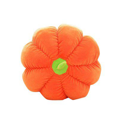 Pumpkin Style Plush Toy Throw Pillow