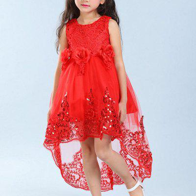 Dress Girl Tail Princess Evening Child SkirtsGirls dresses<br>Dress Girl Tail Princess Evening Child Skirts<br><br>Dresses Length: Mini<br>Material: Cotton<br>Package Contents: 1 x Dress<br>Pattern Type: Bowknot<br>Silhouette: Ball Gown<br>Style: Fashion<br>Weight: 0.3000kg<br>With Belt: Yes