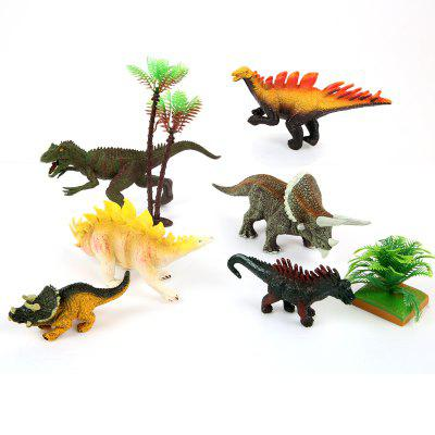 Dinosaur Forest Plastic Model Toy BMovies &amp; TV Action Figures<br>Dinosaur Forest Plastic Model Toy B<br><br>Completeness: Finished Goods<br>Gender: Boys,Girls,Kids<br>Materials: Plastic, ABS<br>Package Contents: 1 x Set of Toys<br>Package size: 36.00 x 5.00 x 28.00 cm / 14.17 x 1.97 x 11.02 inches<br>Package weight: 0.5100 kg<br>Product weight: 0.4100 kg<br>Stem From: Other<br>Theme: Other,Animals