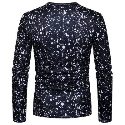 Abstract Wings Break A Printed Long Sleeved T-ShirtMens Long Sleeves Tees<br>Abstract Wings Break A Printed Long Sleeved T-Shirt<br><br>Collar: Round Neck<br>Material: Polyester<br>Package Contents: 1 xT-shirt<br>Pattern Type: Others<br>Sleeve Length: Full<br>Style: Casual<br>Weight: 0.2500kg