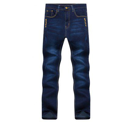 Spring Fashion Slim All-Match Color Jeans