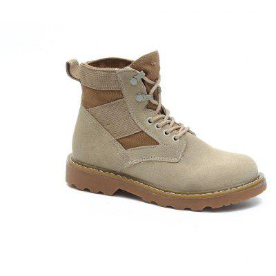 New Spring and Autumn High-Top Casual Cotton Boots