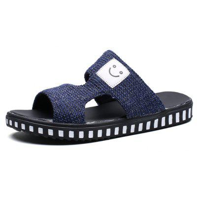 New Summer Cool and Comfortable Smile SlippersMens Sandals<br>New Summer Cool and Comfortable Smile Slippers<br><br>Available Size: 39-44<br>Closure Type: Slip-On<br>Embellishment: Hollow Out<br>Gender: For Men<br>Heel Hight: 2cm<br>Occasion: Casual<br>Outsole Material: Rubber<br>Package Contents: 1xshoes(pair)<br>Pattern Type: Character<br>Sandals Style: Slides<br>Style: Leisure<br>Upper Material: PU<br>Weight: 1.5840kg