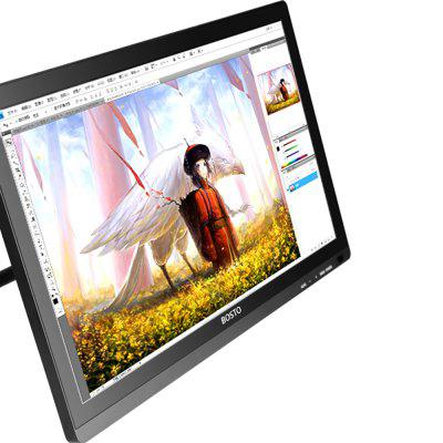 Bosto 22 inch Full HD IPS Panel Full Angle with Battery Free PenGraphics Tablets<br>Bosto 22 inch Full HD IPS Panel Full Angle with Battery Free Pen<br><br>Accuracy: 0.25mm<br>Color: Black,Silver<br>Compatible Operation Systems: Mac OS,Windows 10,Windows 7,Windows 8,Windows XP<br>Display Area: 21.5 inch<br>Package Contents: 1 x Bosto Interactive Pen Display , 1 x Adjustable Display Stand , 1 x Grip Pen , 4 x Nibs , 1 x HDMI Cable , 1 x USB Cable , 1 x HDMI to DVI Adapter , 1 x AC Power Adaptor , 1 x CD-ROM<br>Package Size(L x W x H): 61.50 x 42.50 x 15.20 cm / 24.21 x 16.73 x 5.98 inches<br>Package weight: 5.5000 kg<br>Pressure Sensitivity: 2048<br>Product Size(L x W x H): 51.80 x 32.40 x 3.60 cm / 20.39 x 12.76 x 1.42 inches<br>Read Speed: 230 point/s<br>Reading Distance: 15mm<br>Report Rate: 8ms<br>Resolution: 5080LPI<br>Type: Pen without power<br>Voltage: 110-240V,12V