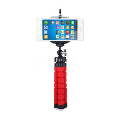 Flexible Octopus Tripod Bracket Selfie Stand Mount + Bluetooth Remote ShutterStands &amp; Holders<br>Flexible Octopus Tripod Bracket Selfie Stand Mount + Bluetooth Remote Shutter<br><br>Color: Black,Red,Blue<br>Mainly Compatible with: Universal<br>Material: Plastic<br>Package Contents: 1 x Flexible Tripod, 1 x Bluetooth Shutter, 1 x CR2032 Button Battery<br>Package size (L x W x H): 25.00 x 8.00 x 4.00 cm / 9.84 x 3.15 x 1.57 inches<br>Package weight: 0.0800 kg<br>Product size (L x W x H): 18.00 x 3.50 x 3.50 cm / 7.09 x 1.38 x 1.38 inches