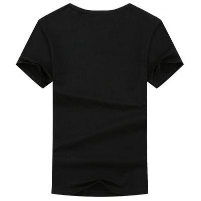 Fashionable Short Sleeve Leisure T-ShirtMens Short Sleeve Tees<br>Fashionable Short Sleeve Leisure T-Shirt<br><br>Collar: Round Neck<br>Fabric Type: Woolen<br>Material: Cotton<br>Package Contents: 1x T-shirt<br>Pattern Type: Letter<br>Sleeve Length: Short Sleeves<br>Style: Casual<br>Weight: 0.3800kg