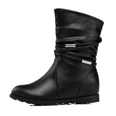 Flat Bottom Raised with A Velvet Short Tube Martin BootWomens Boots<br>Flat Bottom Raised with A Velvet Short Tube Martin Boot<br><br>Boot Height: Ankle, Ankle<br>Boot Type: Fashion Boots, Fashion Boots<br>Closure Type: Zip, Zip<br>Gender: For Women, For Women<br>Heel Type: Flat Heel, Flat Heel<br>Package Contents: 1x shoes (pair), 1x shoes (pair)<br>Pattern Type: Solid, Solid<br>Season: Winter, Winter<br>Toe Shape: Round Toe, Round Toe<br>Upper Material: PU, PU<br>Weight: 1.6896kg, 1.6896kg