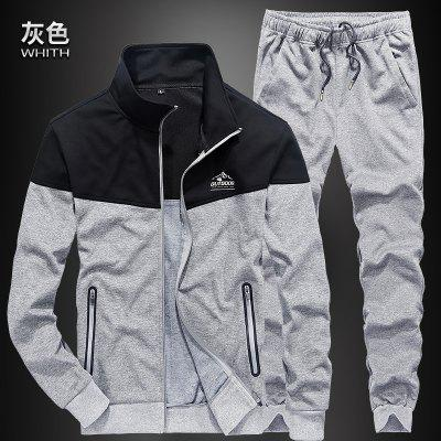 Casual Sports Running All Match Outdoor SetSport Clothing<br>Casual Sports Running All Match Outdoor Set<br><br>Material: Cotton<br>Package Contents: 1 x Coat,1 x Pants<br>Pattern Type: Solid<br>Weight: 1.0000kg