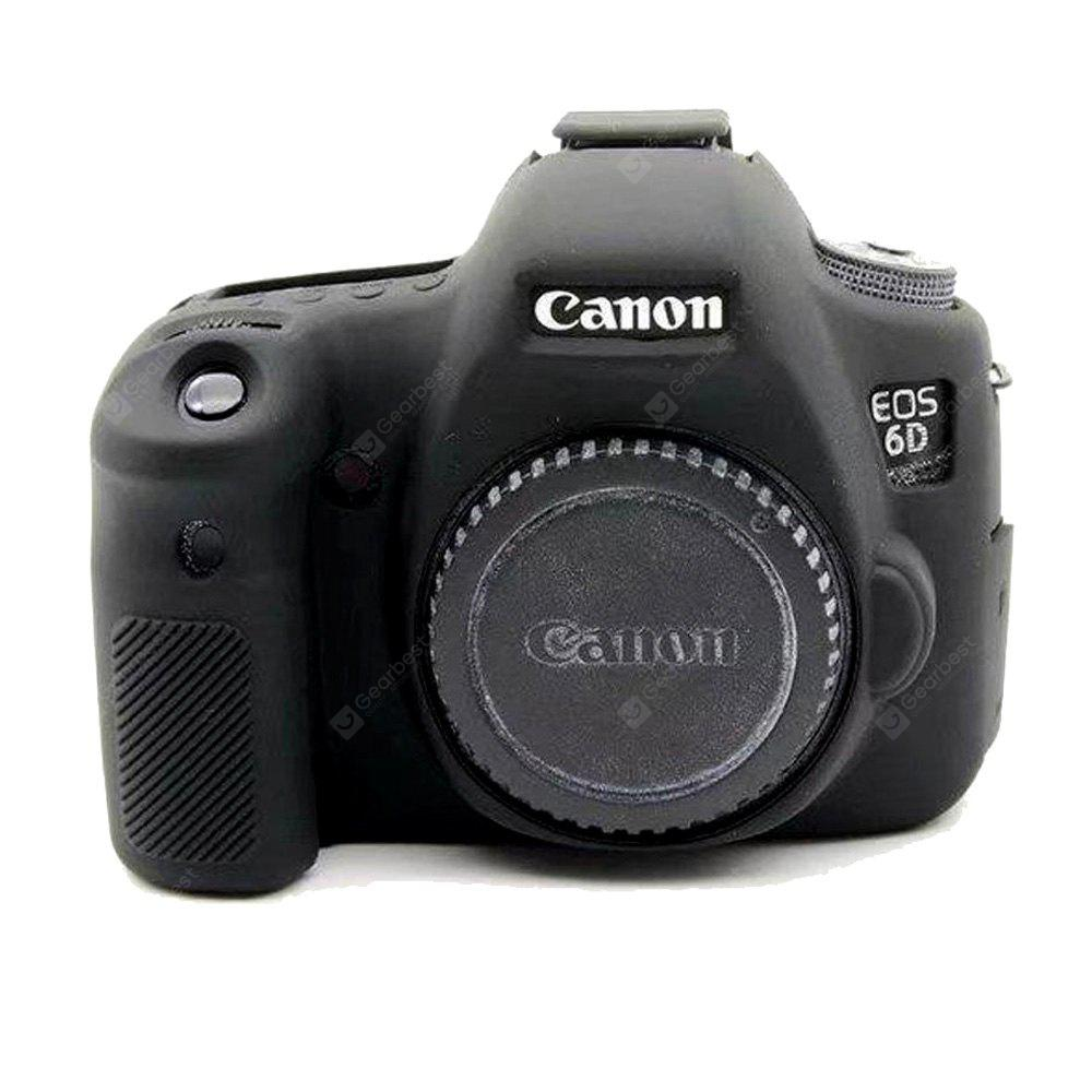 Soft Silicone Armor Skin Rubber Camera Cover Case Bag for Canon EOS 6D