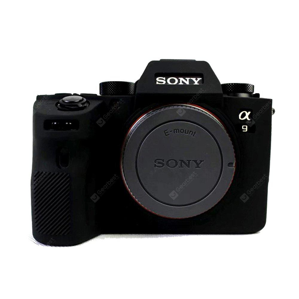 Soft Silicone Armor Skin Rubber Camera Case for Sony ILCE-9 sony a9