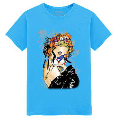 Teenage Short Sleeved Cool and Fashionable T-Shirt