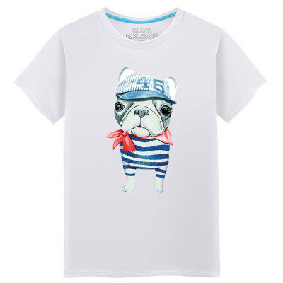 Young Short Sleeved Fashionable T-Shirt