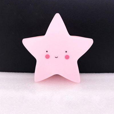 Cartoon Lovely Pink Star Shape Children Sleeping Bedroom LED Night LightNovelty lighting<br>Cartoon Lovely Pink Star Shape Children Sleeping Bedroom LED Night Light<br><br>Battery Quantity: 3 LR44 button batteries<br>Color Temperature or Wavelength: 1945K<br>Connector Type: Battery<br>Features: Decorative<br>Light Source Color: Pink<br>Light Type: LED,Night Light,Indoor Light,LED Night Light,Decoration Light<br>Mini Voltage: 4.5V<br>Package Contents: 1 x Night Light<br>Package size (L x W x H): 15.00 x 14.50 x 6.00 cm / 5.91 x 5.71 x 2.36 inches<br>Package weight: 0.1590 kg<br>Power Source: Battery<br>Product size (L x W x H): 14.50 x 13.50 x 5.00 cm / 5.71 x 5.31 x 1.97 inches<br>Product weight: 0.1020 kg<br>Quantity: 1<br>Style: Artistic Style, Cartoon, Vintage<br>Wattage: 1W