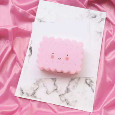 Lovely Pink Biscuit  Children Room Decorative Small Night Light Feeding Lamp