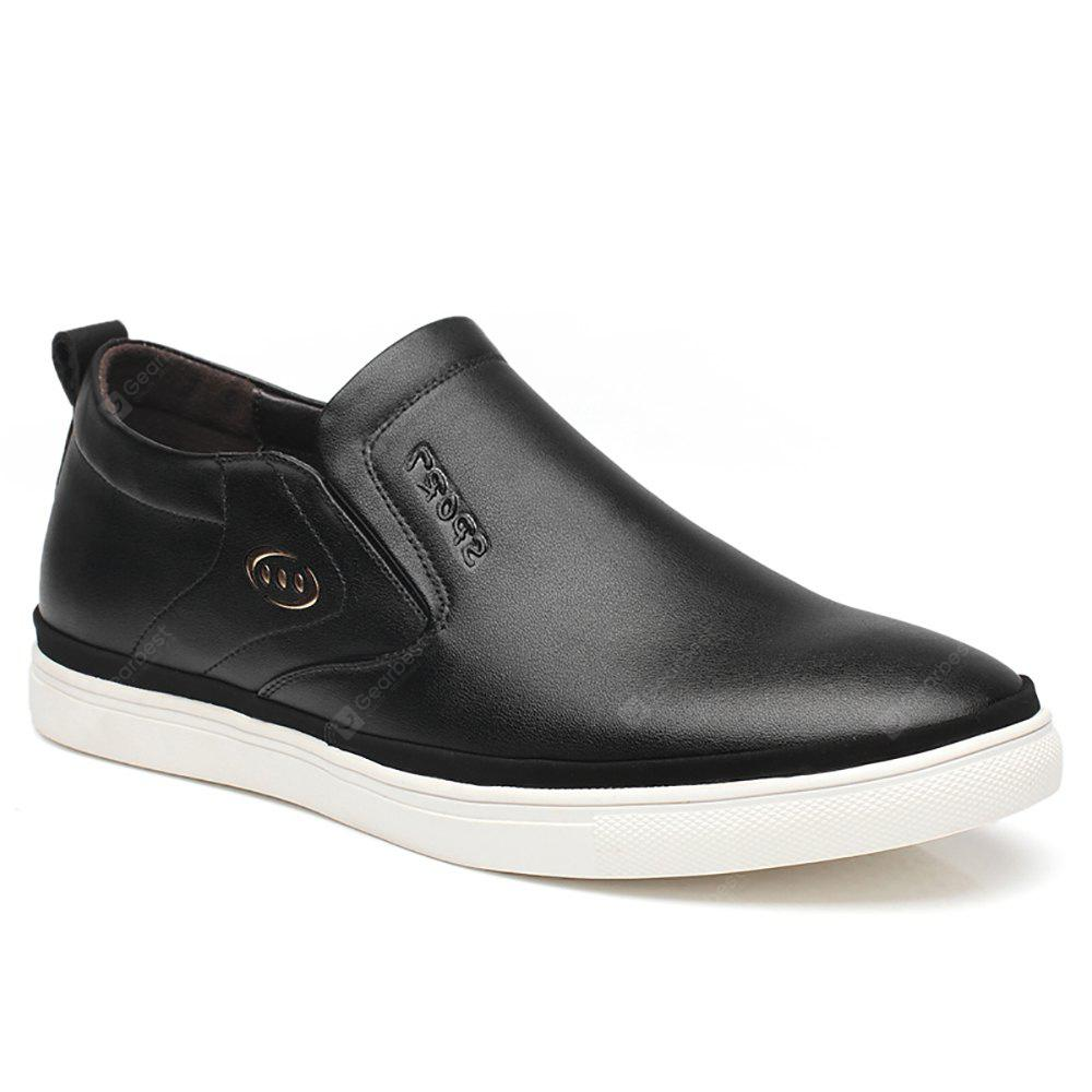 Leather Shoes Flat Bottomed Leisure