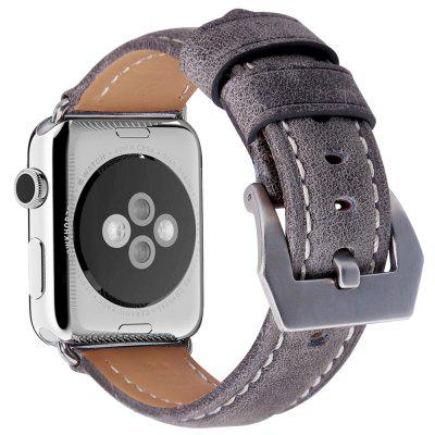 38mm Cowhide Genuine Leather Band Replacement for iWatch Apple Watch Series 1 / Series 2 / Series 3