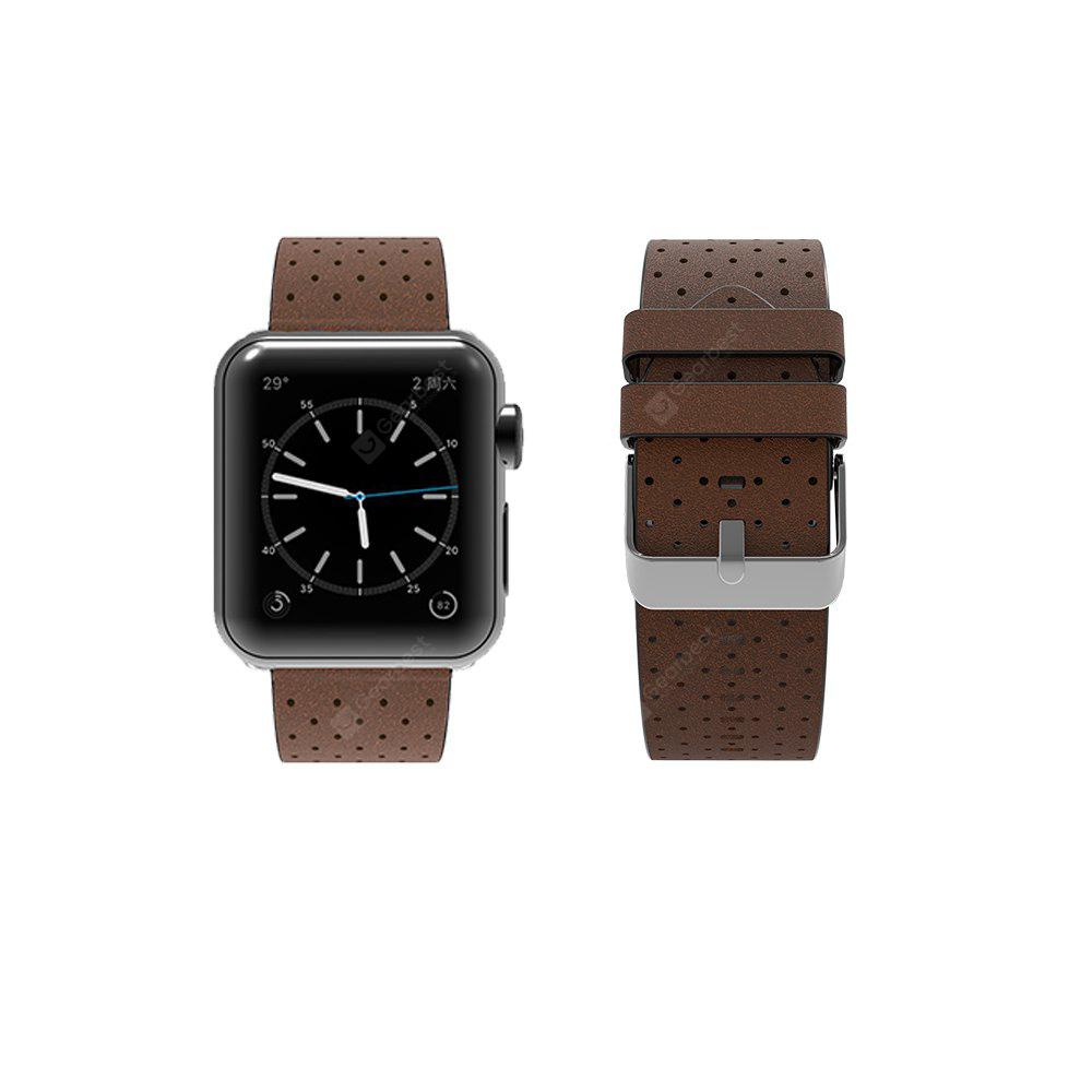for Apple Watch Band Cow Leather 38mm Sports and Fashionable Premium Cow Leather iWatch Band for Apple Watch