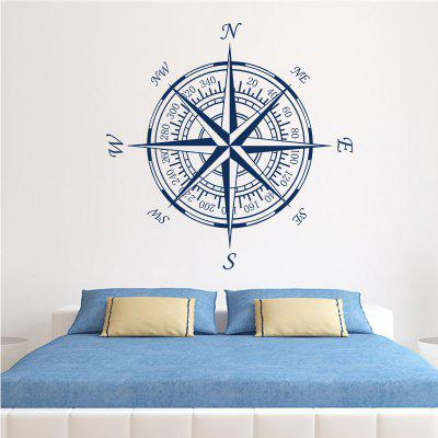 Compass Vinyl Removable Wall Sticker Round Compass Decals Home DecorationWall Stickers<br>Compass Vinyl Removable Wall Sticker Round Compass Decals Home Decoration<br><br>Art Style: Plane Wall Stickers, Toilet Stickers<br>Color Scheme: Others<br>Function: Decorative Wall Sticker<br>Material: Paper, Vinyl(PVC)<br>Package Contents: 1 x wall sticker, 1 x transfer sheet<br>Package size (L x W x H): 58.00 x 5.00 x 5.00 cm / 22.83 x 1.97 x 1.97 inches<br>Package weight: 0.1200 kg<br>Quantity: 1<br>Sizes: Others<br>Subjects: Cartoon,Famous,Map,Shape<br>Suitable Space: Living Room,Bedroom,Office,Kids Room,Corridor,Kids Room,Study Room / Office<br>Type: Plane Wall Sticker