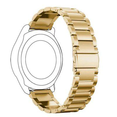 22MM Stainless Steel Metal Replacement Smart Watch Band Bracelet for Pebble Time / Pebble Time Steel