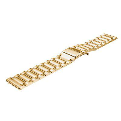 22MM Stainless Steel Metal Replacement Smart Watch Band Bracelet for Pebble Time / Pebble Time SteelWatch Accessories<br>22MM Stainless Steel Metal Replacement Smart Watch Band Bracelet for Pebble Time / Pebble Time Steel<br><br>Material: Metal<br>Package Contents: 1 x Band<br>Package size (L x W x H): 20.00 x 6.00 x 1.00 cm / 7.87 x 2.36 x 0.39 inches<br>Package weight: 0.1300 kg<br>Product size (L x W x H): 18.00 x 2.20 x 0.50 cm / 7.09 x 0.87 x 0.2 inches<br>Product weight: 0.1200 kg<br>Type: Smart watch / wristband band