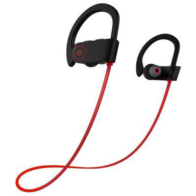 Bluetooth Headphones Best Wireless Sports Earphones w/ Mic IPX7 Waterproof HD Stereo Sweatproof In Ear Earbuds for Gym