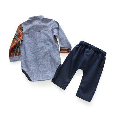 Baby Spring Clothes Boy Pure Cotton Checked Long Sleeve Shirt Jumpsuits Pantbaby clothing sets<br>Baby Spring Clothes Boy Pure Cotton Checked Long Sleeve Shirt Jumpsuits Pant<br><br>Closure Type: Covered Button<br>Collar: Turn-down Collar<br>Gender: Boy<br>Material: Cotton<br>Package Contents: 1 x Suit<br>Season: Spring<br>Sleeve Length: Full<br>Thickness: Thin<br>Weight: 0.1638kg