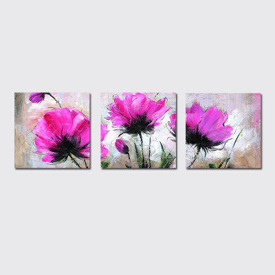 QiaoJiaHuaYuan Frameless Canvas Background of Contemporary and Contracted Sitting Room Sofa Decorate Hang a Picture Flow