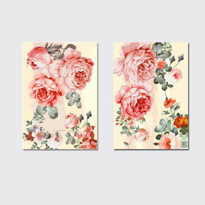 QiaoJiaHuaYuan No Frame Canvas Living Room Sofa Background Two Sets of Picture Bedroom Study Decoration Hanging Picture