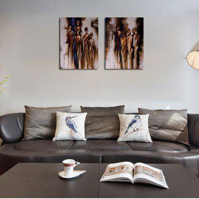 QiaoJiaHuaYuan No Frame Canvas Living Room Study Modern art Abstract Two Pieces of Decorative PaintingPrints<br>QiaoJiaHuaYuan No Frame Canvas Living Room Study Modern art Abstract Two Pieces of Decorative Painting<br><br>Brand: Qiaojiahuayuan<br>Craft: Print<br>Form: Two Panels<br>Material: Canvas<br>Package Contents: 2 x Print<br>Package size (L x W x H): 67.00 x 5.00 x 5.00 cm / 26.38 x 1.97 x 1.97 inches<br>Package weight: 0.2200 kg<br>Painting: Without Inner Frame<br>Product weight: 0.2200 kg<br>Shape: Vertical Panoramic<br>Style: Abstract<br>Subjects: Abstract<br>Suitable Space: Living Room