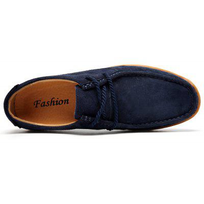 Soft Medium Top Thickened Retro Patent Leather ShoesMen's Oxford<br>Soft Medium Top Thickened Retro Patent Leather Shoes<br><br>Available Size: 39-44<br>Closure Type: Lace-Up<br>Embellishment: Ruched<br>Gender: For Men<br>Occasion: Casual<br>Outsole Material: Rubber<br>Package Contents: 1 x Shoes (pair)<br>Pattern Type: Solid<br>Season: Spring/Fall<br>Toe Shape: Round Toe<br>Toe Style: Closed Toe<br>Upper Material: Suede<br>Weight: 1.2000kg