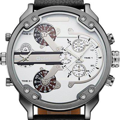 Mens Foreign Trade Hot Sales and Leisure Time TableMens Watches<br>Mens Foreign Trade Hot Sales and Leisure Time Table<br><br>Band material: PU Leather<br>Case material: Alloy<br>Clasp type: Pin buckle<br>Display type: Analog<br>Movement type: Quartz watch<br>Package Contents: 1 X WATCH<br>Package size (L x W x H): 10.00 x 5.00 x 3.00 cm / 3.94 x 1.97 x 1.18 inches<br>Package weight: 0.2000 kg<br>Shape of the dial: Round<br>Special features: GMT, Multi Time Zones, Decorative sub-dial<br>Watch style: Trends in outdoor sports, Cool, Business, Fashion, Casual<br>Watches categories: Men