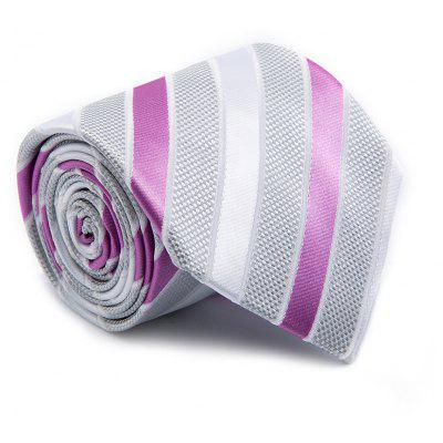 New Fashion Men Tie Creative Design Striped Faddish Necktie Accessory