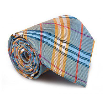 New Fashion Men Tie Striped Block Comfy Trendy Business Necktie Accessory