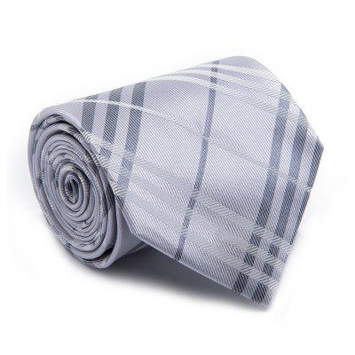 Fashin Men Tie Striped Pattern Business Formal Faddish Necktie Accessory