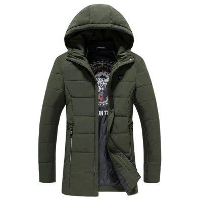 2018 Men's Fashion Trends Warm Coat