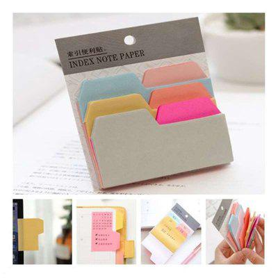 1PC Colourful Sticky Notes Post It Memo Pads